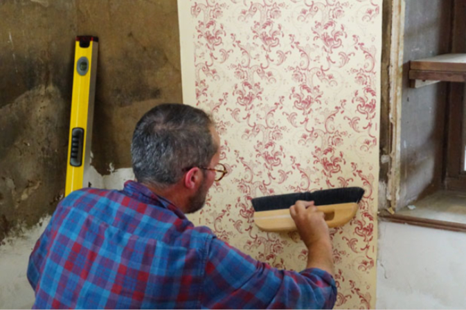 Image for Step 4 - Applying wallpaper